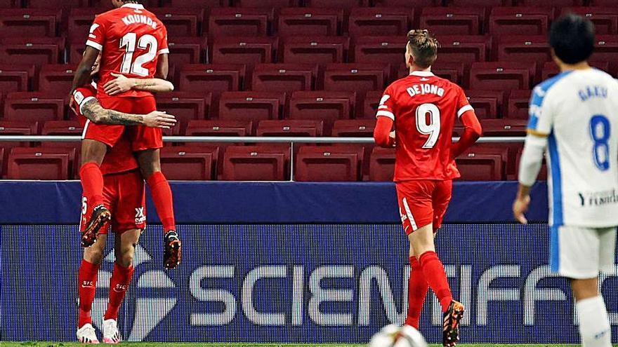 Ocampos salva al Sevilla en la prórroga