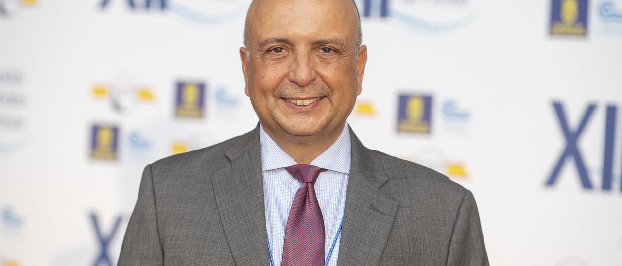 Ignacio Escuder, presidente del Comité Nacional de Grandes Presas.