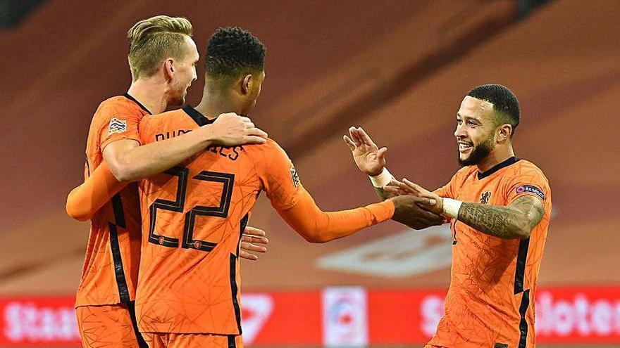 Holanda se impone a Bosnia