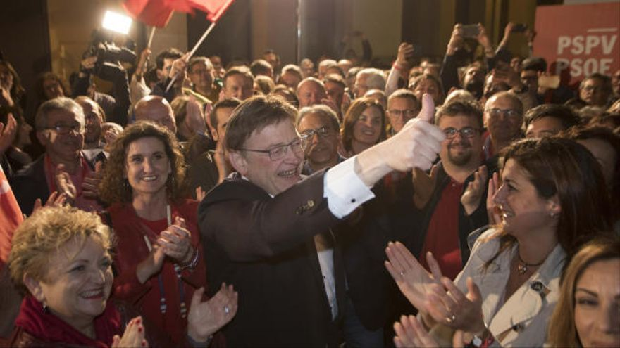 PSPV gana las elecciones autonómicas de la Comunitat Valenciana