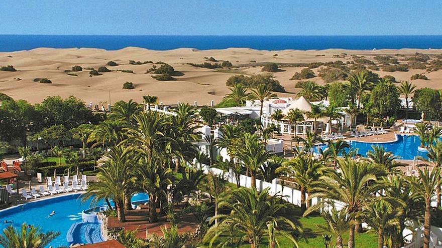 Riu amplía el Palace Maspalomas y abre un restaurante con vistas a las dunas
