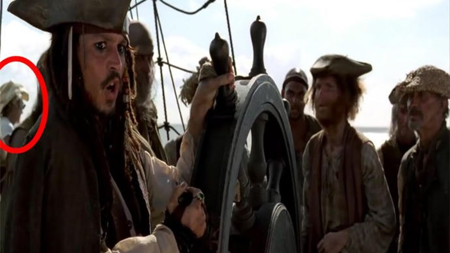 Los mejores gazapos de 'Piratas del Caribe'