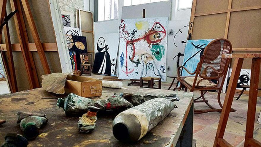 "Auf Mallorca gibt's Joan Mirós Atelier im ""Originalzustand"""