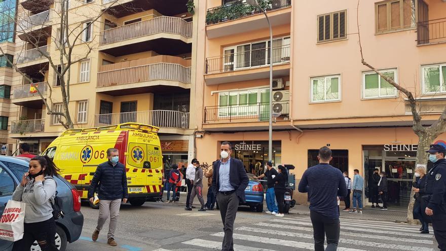 Muere súbitamente una mujer de 68 años en la calle Nuredduna de Palma
