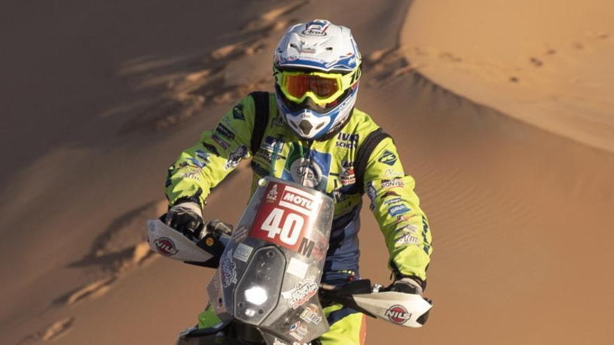 El piloto del Dakar Edwin Straver, en estado crítico