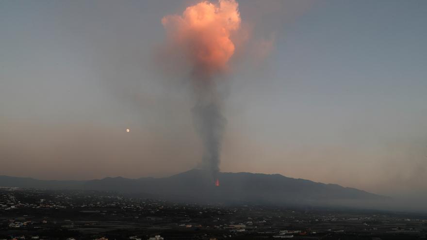 Así han evolucionado las coladas por la erupción del volcán de La Palma