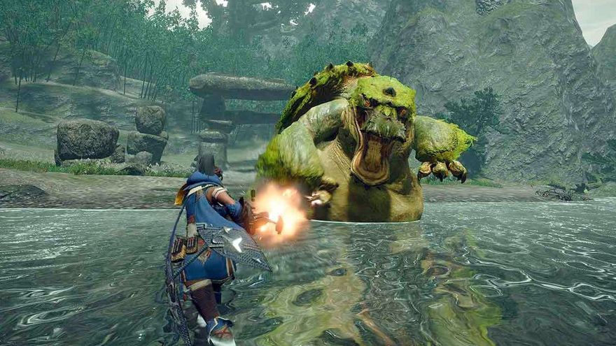 Una imagen de 'Monster Hunter Rise'.