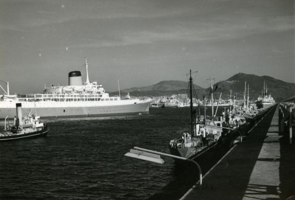 Evolución del Puerto de La Luz.