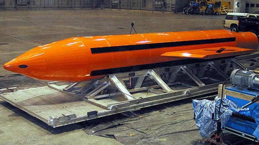 EUA ha fet servir per primer cop la bomba no nuclear més potent que existeix