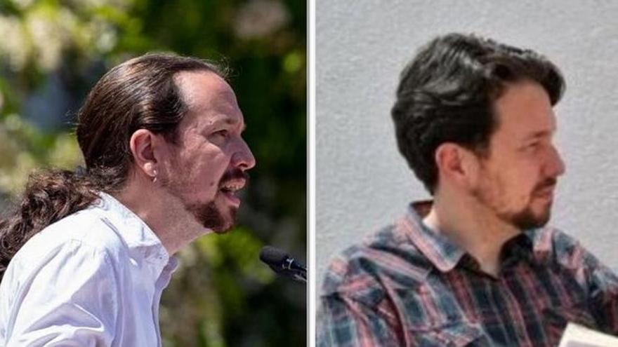 Los parecidos razonables de Pablo Iglesias tras cortar su coleta