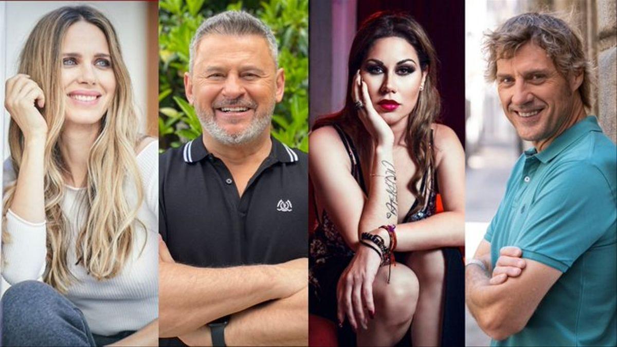 Vanesa Romero, Miki Nadal, Tamara y Julián Iantzi.