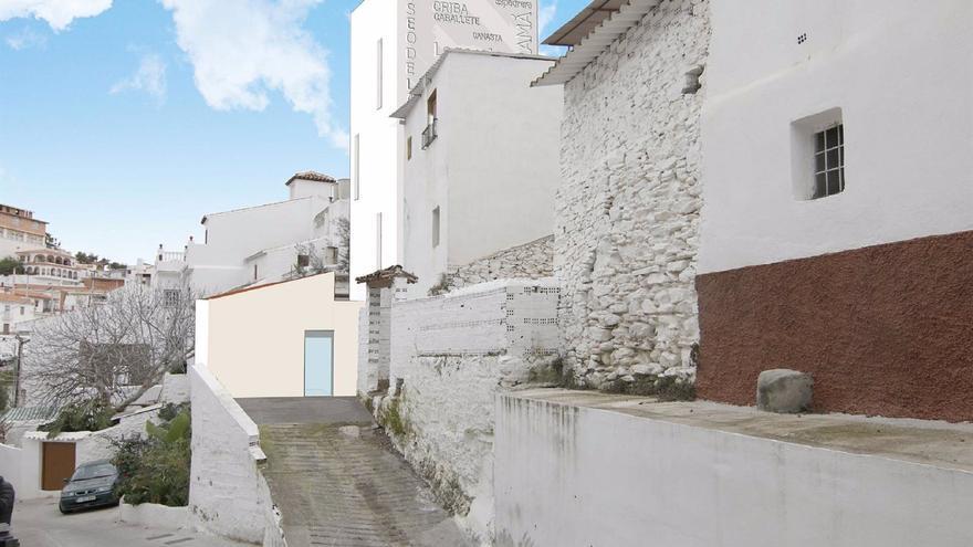 La Diputación aprueba la contratación de las obras del Museo de la Pasa de Almáchar con 925.000 euros de inversión