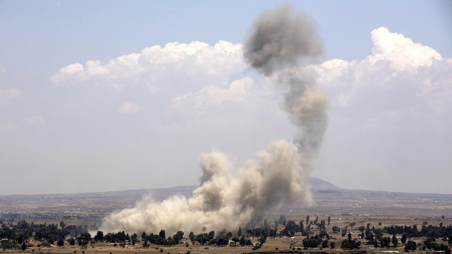 Mueren una mujer y cuatro niños en un ataque con misiles de Damasco