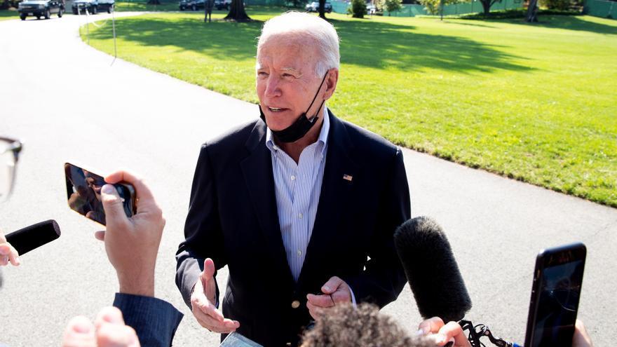 """Biden admite que Estados Unidos se ha """"dado cuenta"""" de que la crisis climática es real"""
