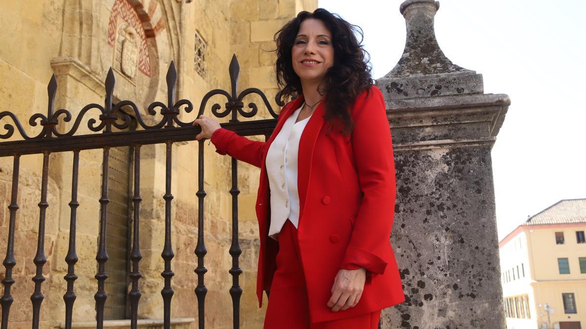 Rocío Ruiz visitó ayer Córdoba, donde expuso algunas líneas de trabajo de su Consejería.