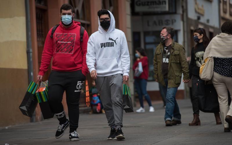 Día de compras durante la pandemia