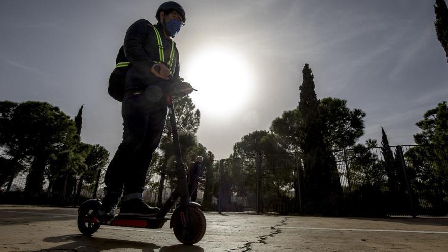 La Policía Local de Palma impuso más de 170 multas a patinetes eléctricos durante el pasado año