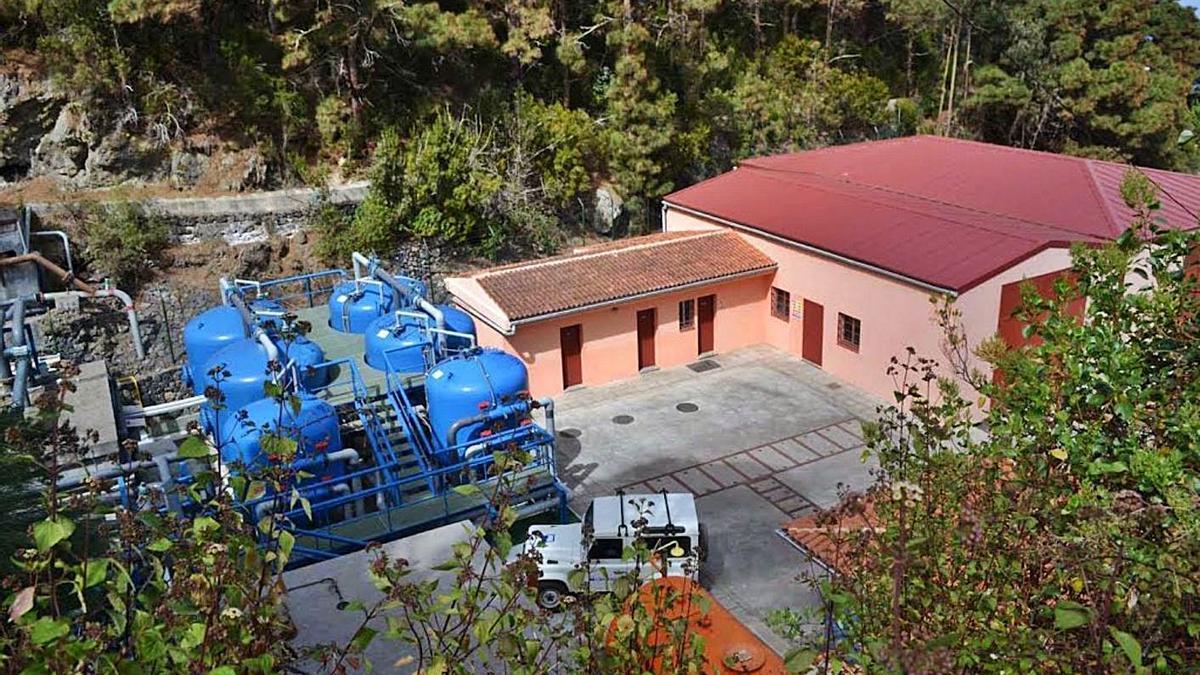 Planta desalinizadora de Cruz de los Tarifes, en La Guancha.