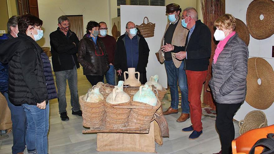 L'art de l'espart, en una exposició a Vilallonga