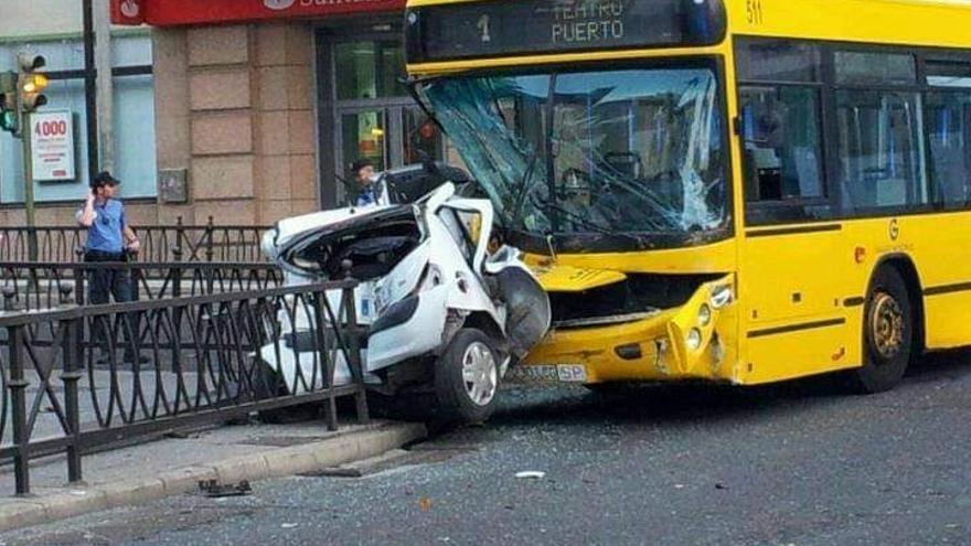 Un brutal accidente de hace casi una década que difunden como si fuera actual