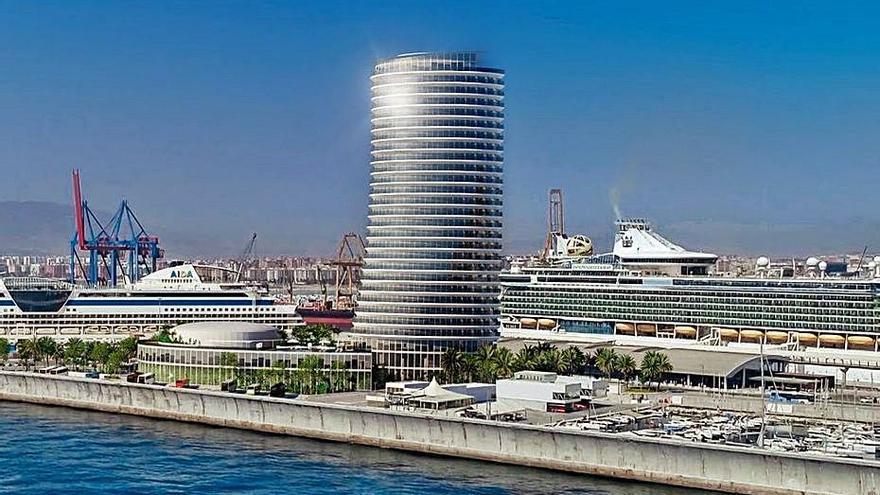 Puertos del Estado avala el hotel del puerto de Málaga pero pone reparos al trámite