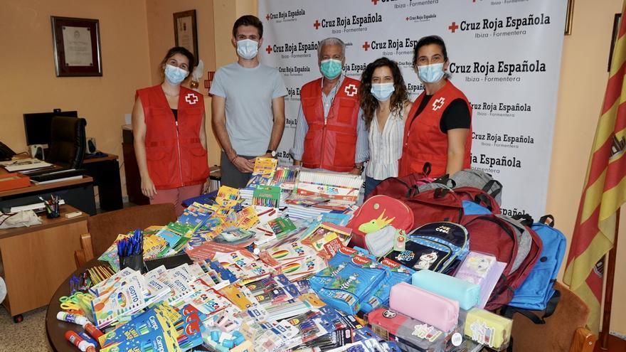 Donación de material escolar para 250 niños