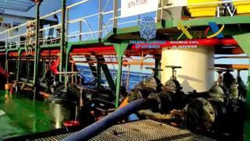 Interceptan un barco con tres toneladas de cocaína frente a la costa de Lugo