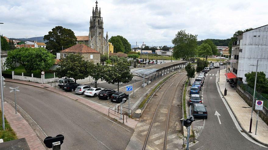 El Puerto de Marín aprovecha el tren