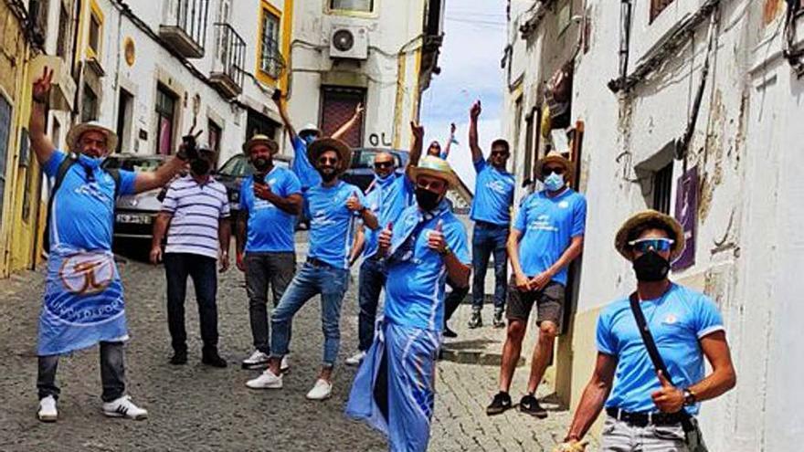 Las aficiones pondrán el color en el graderío del Nuevo Vivero, en Badajoz