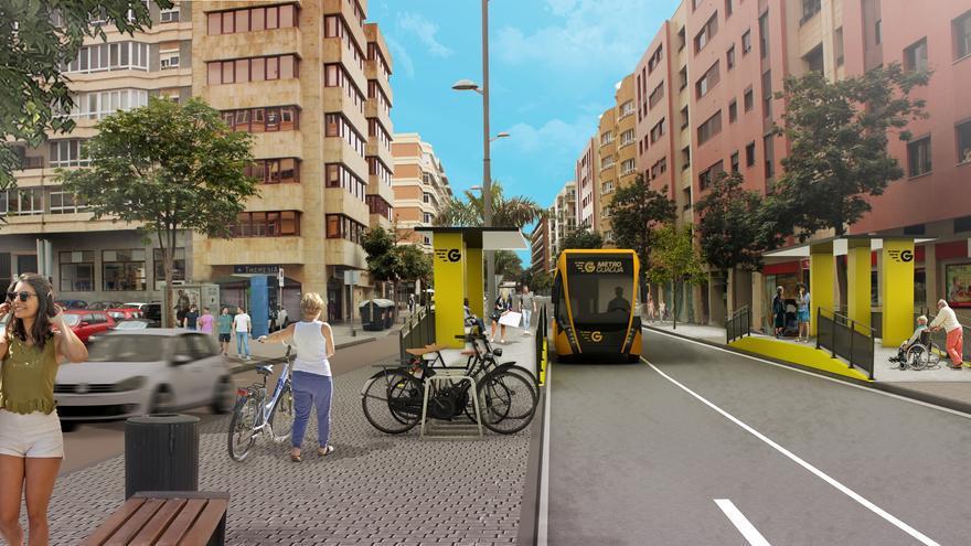 El Ayuntamiento licita la segunda fase de la MetroGuagua