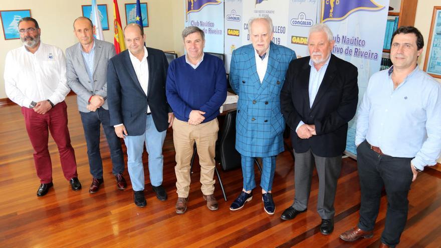 Más de 150 niños de toda Galicia intentarán hacerse en Riveira con el título gallego de Optimist
