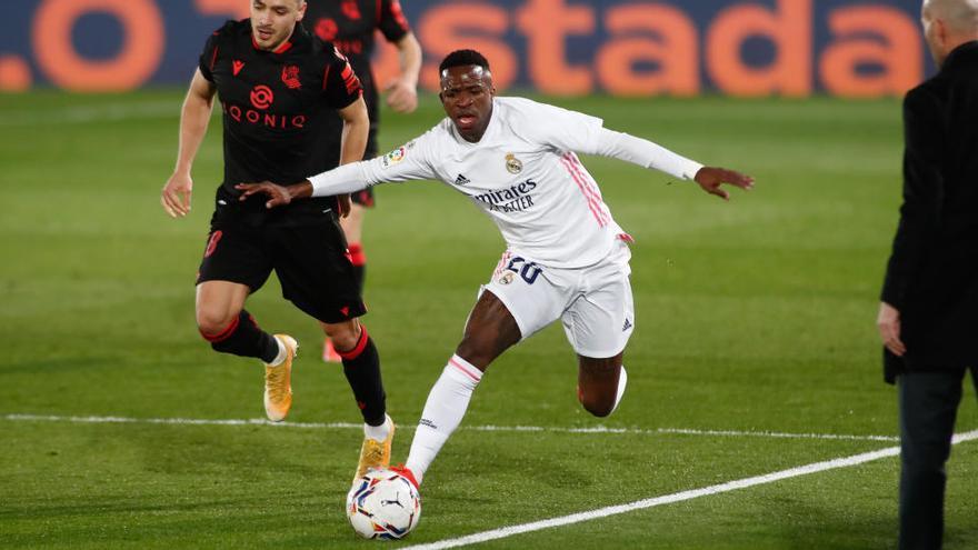 Vinicius salva un punt a darrera hora però el Madrid només empata a casa