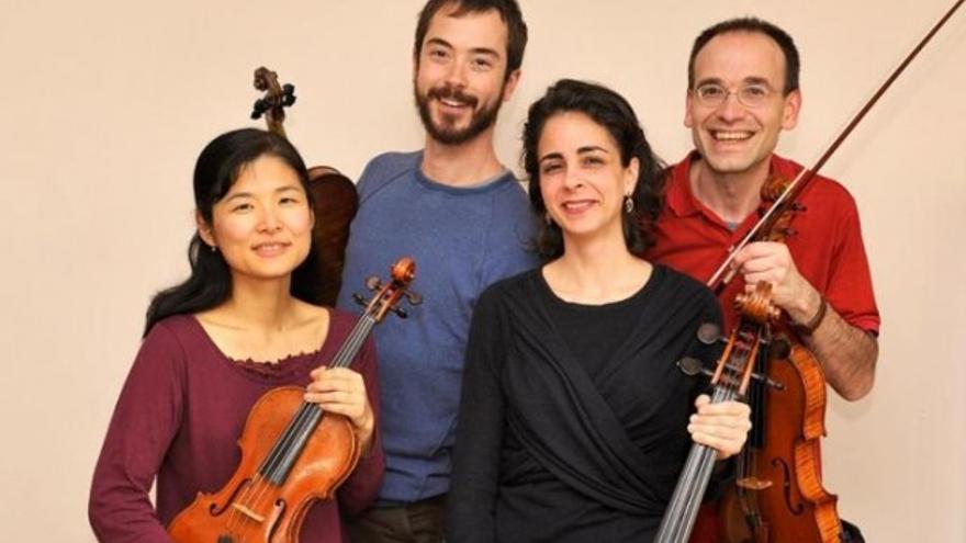 Cuarteto de cuerda Schubert