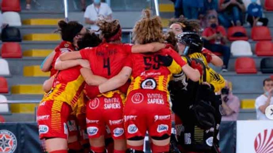 El Manlleu se lleva la Copa de la Reina de A Coruña