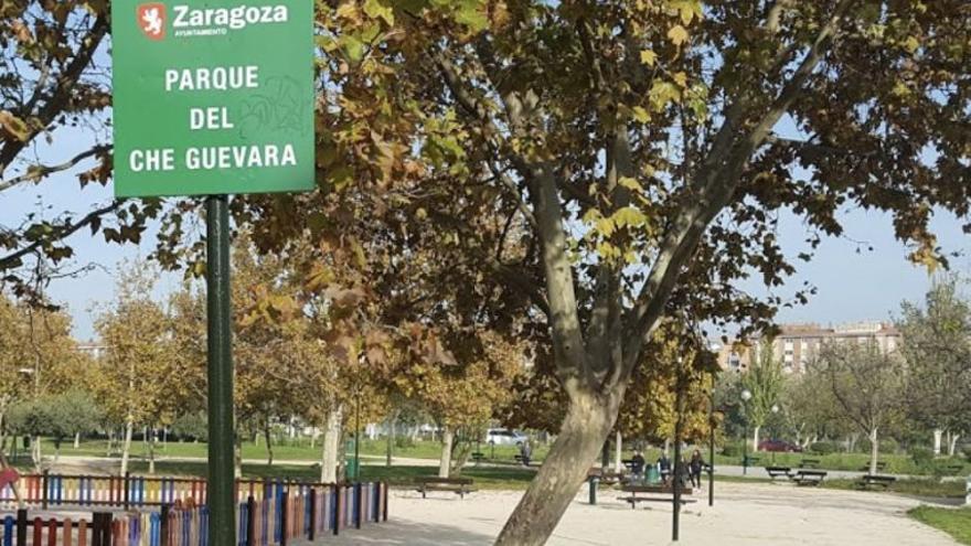 El Parque Che Guevara de Zaragoza se llamará Teresa Perales y la calle, Ana María Suárez