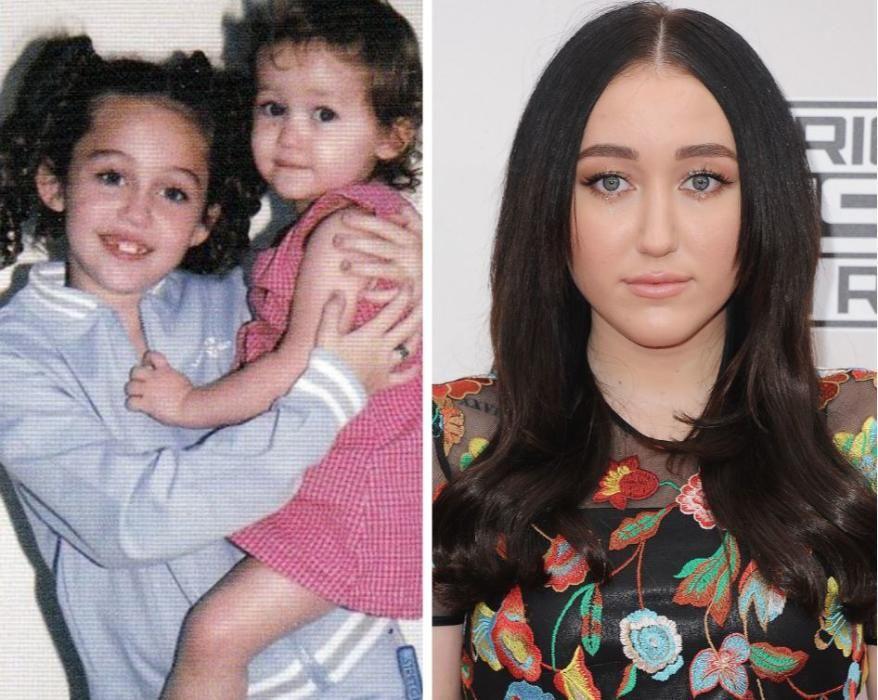 La hermana de Miley Cyrus.