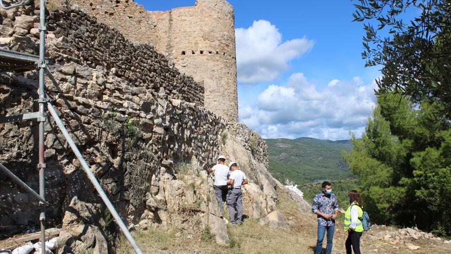 L'Alcora comienza las obras para recuperar su castillo