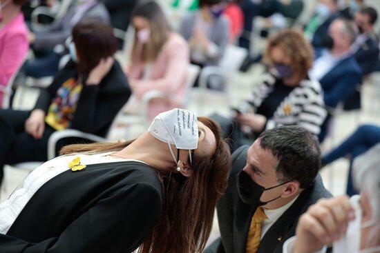 El ple d'inici de la 13a legislatura de Cataluny