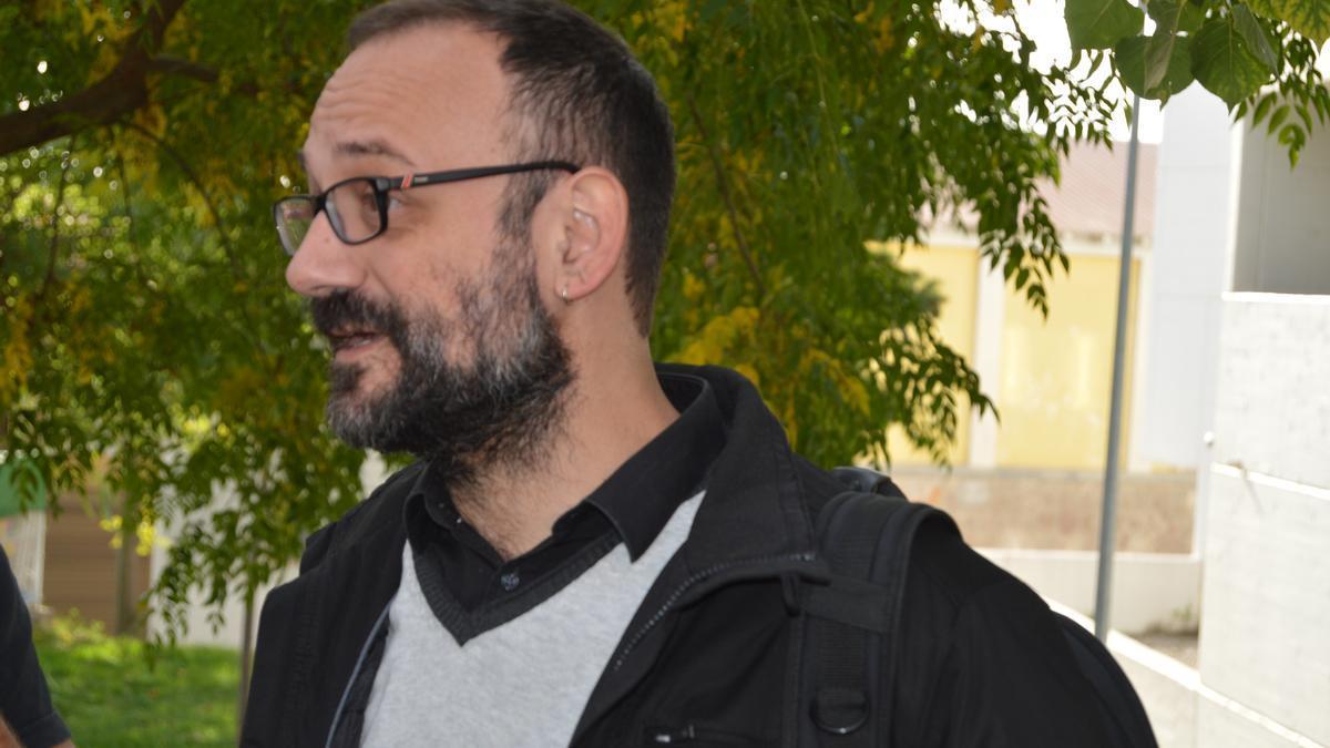 Benet Salellas, advocat de l'equip de defensa de Jordi Cuixart