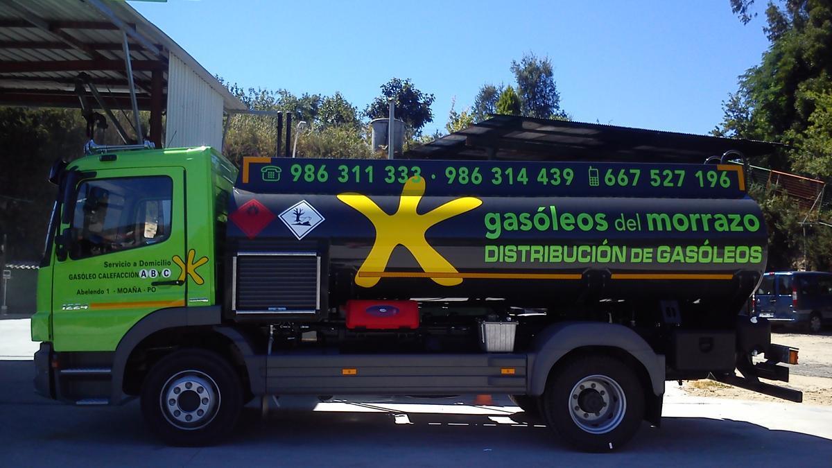 Especializada en distribución de gasóleo, Gasóleos del Morrazo Sanchilán cuenta con servicios de reparto para toda la comarca de O Morrazo, además de Vigo y Pontevedra