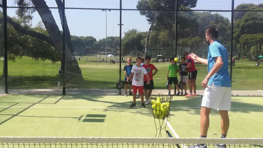 El campus de verano de Tenis Drive Academy ya está en marcha