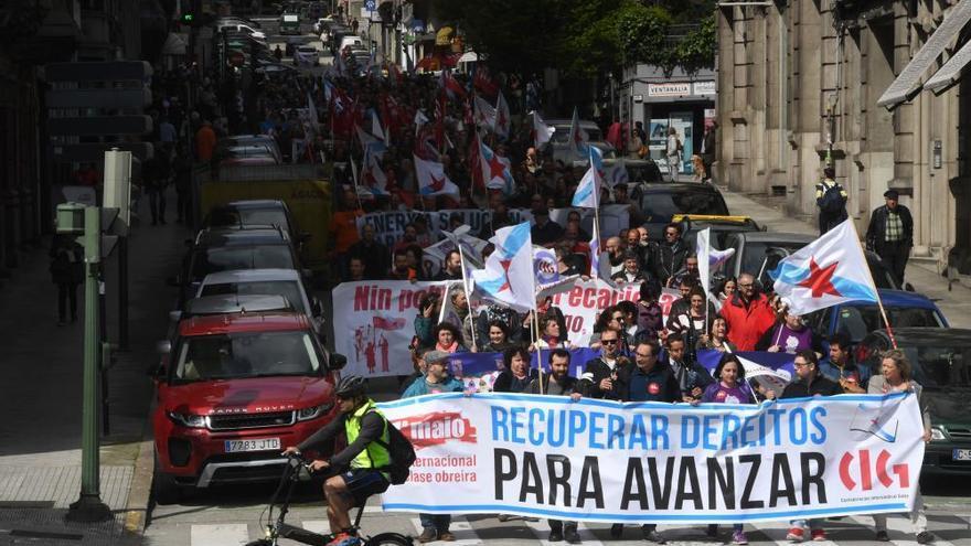 Primero de mayo | Manifestaciones en A Coruña