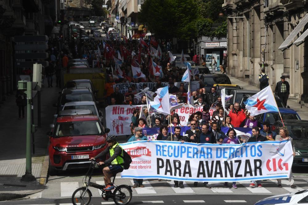 """Los sindicatos piden """"no fallar"""" a la """"izquierda"""" que votó en estas elecciones e instan a """"recuperar"""" derechos."""
