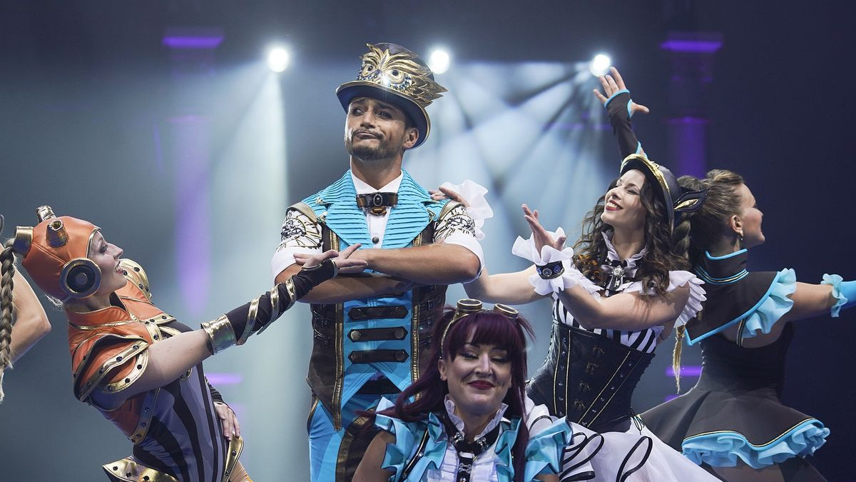Els equilibris, el funambulisme i la doble roda de la mort, protagonistes de l'estrena del Festival del Circ de Girona
