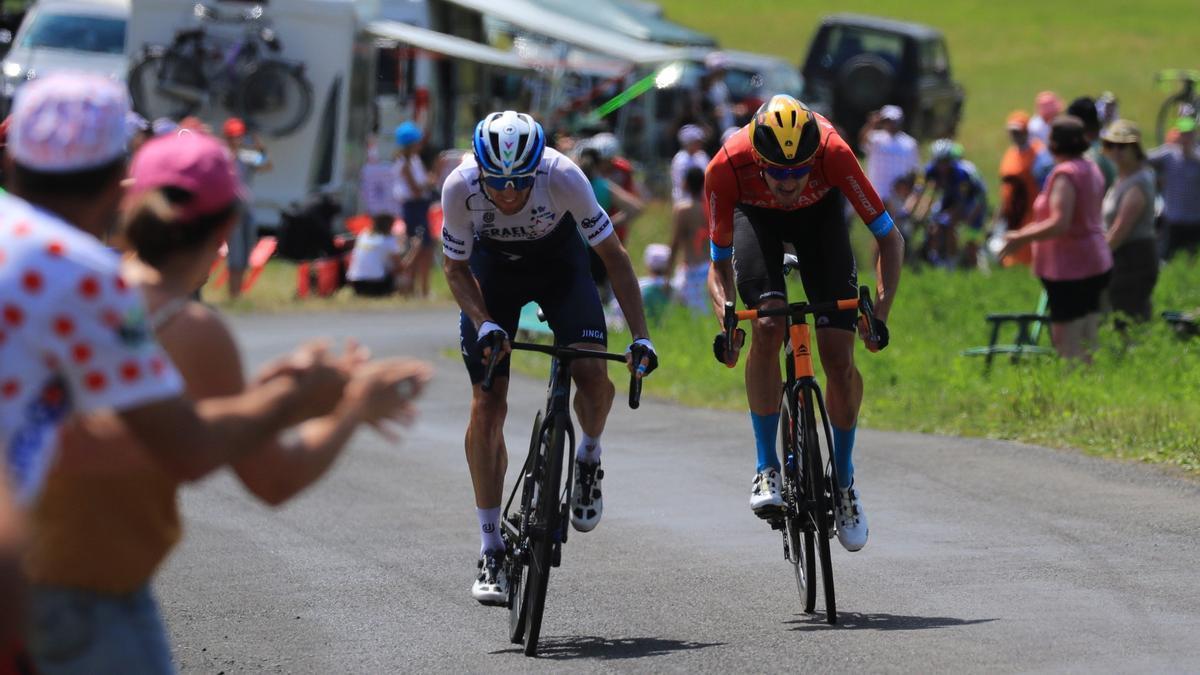 Ciclistas del Tour de Francia 2021.