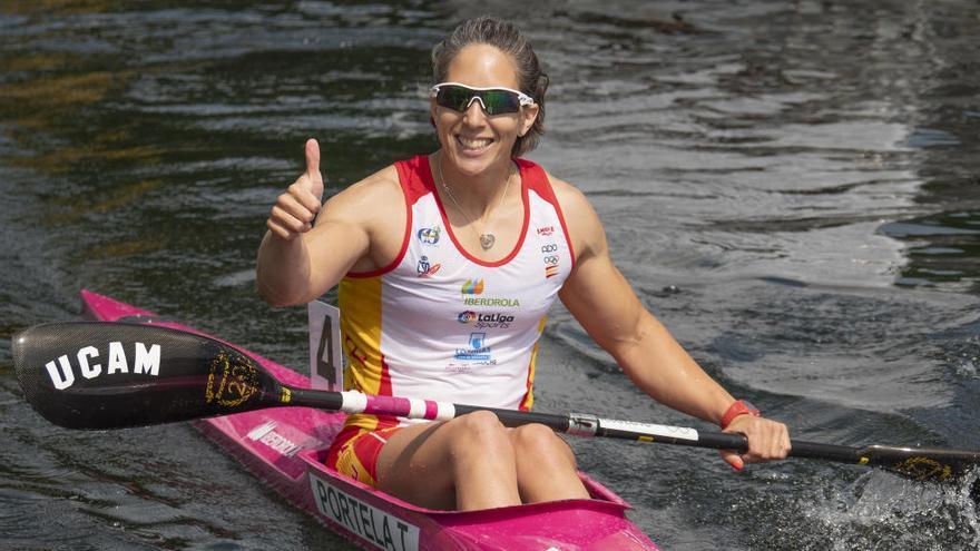 Teresa Portela logra la plata en la Copa del Mundo de Duisburg