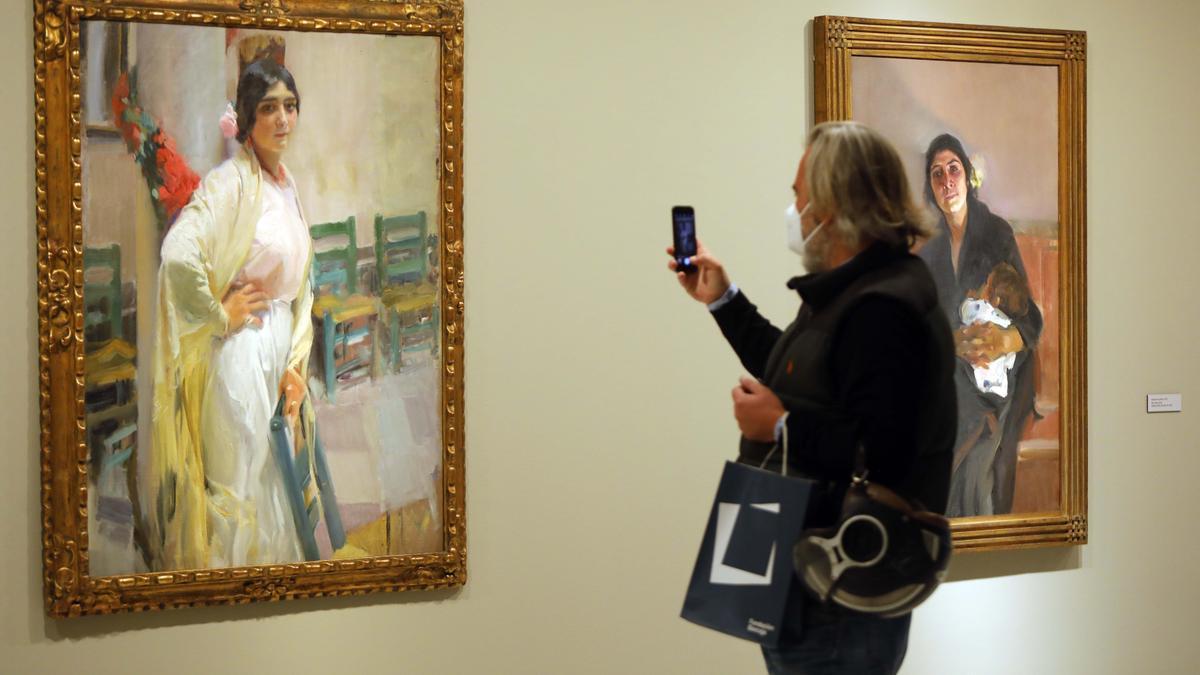 La exposición de Sorolla en la Fundación Bancaja.