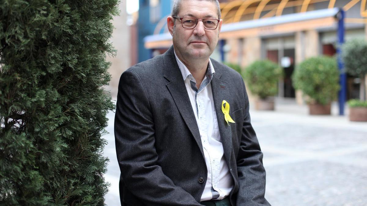 Salvi Güell, alcalde de Castelló d'Empúries.