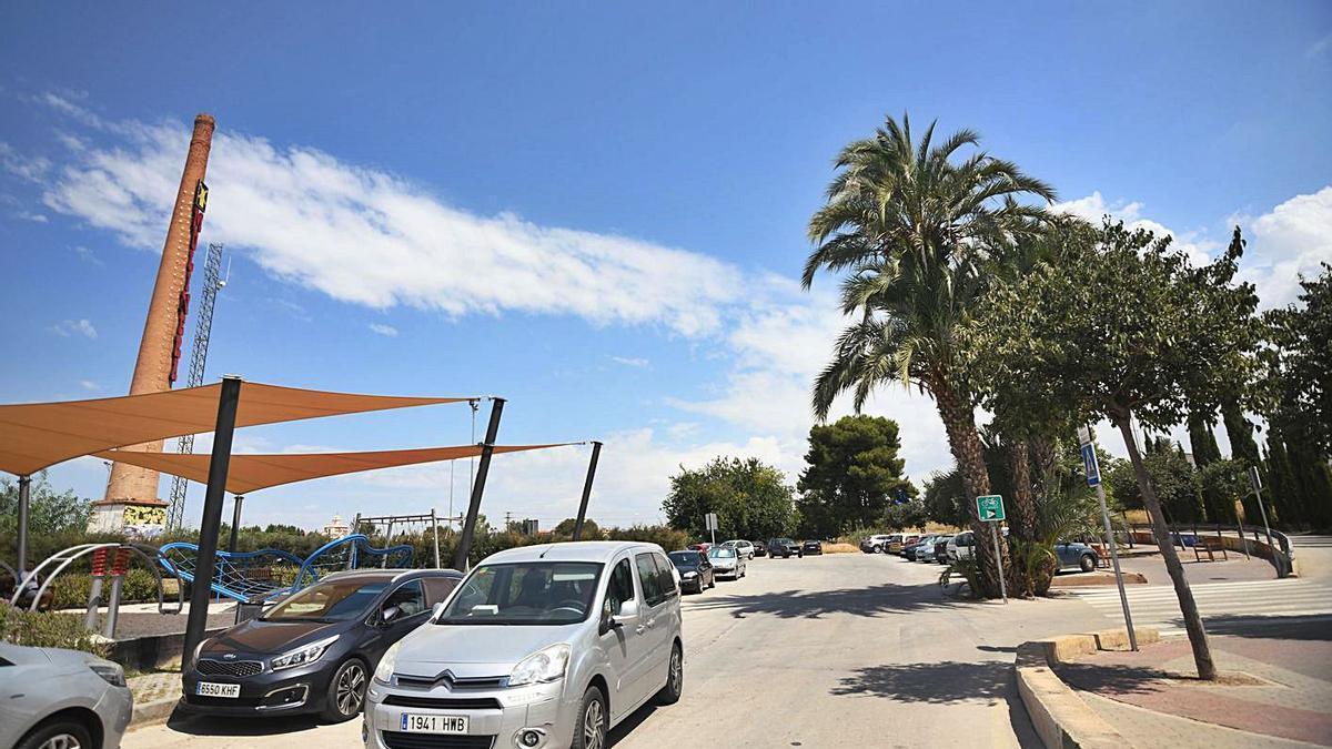 Terrenos que formarán parte del futuro Parque Metropolitano de Barriomar.   ISRAEL SÁNCHEZ