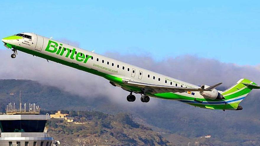 Binter Canarias, entre las mejores aerolíneas durante la pandemia